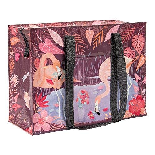Blue Q Bags, Shoulder Tote, Flamingo]()