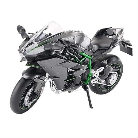 Wsjdmm Presente de cumpleaños Modelo de Coche Kawasaki H2R ...