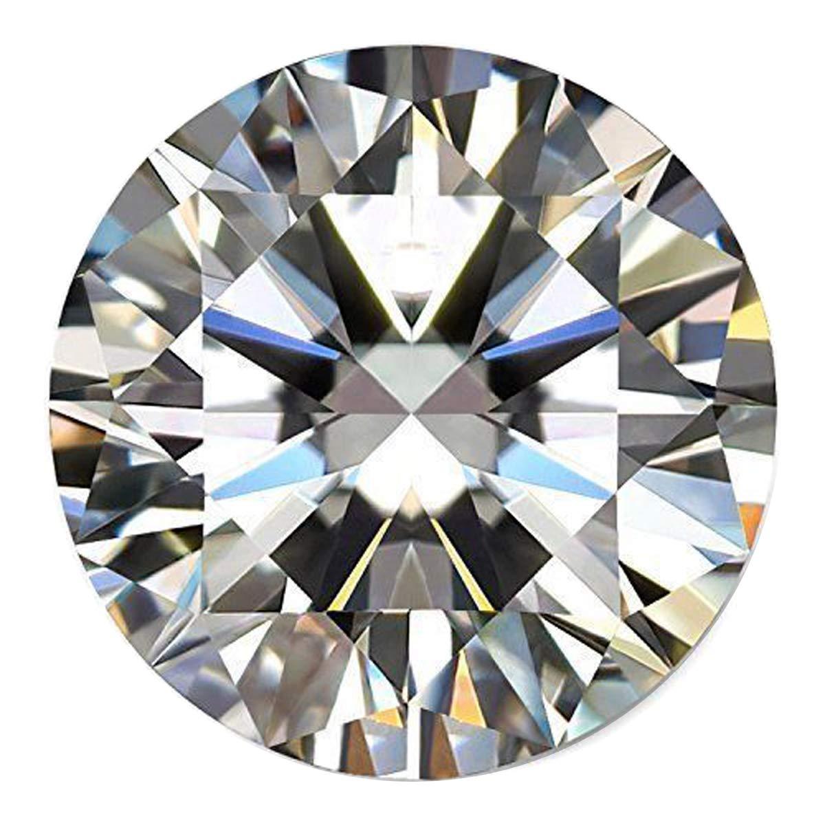 Moissanite genuino diamante de 0.70 ct Egl certificado Moissanite blanco piedra suelta excelente corte VVS2 claridad