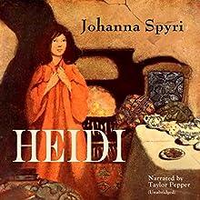 Heidi Audiobook by Johanna Spyri Narrated by Taylor Pepper