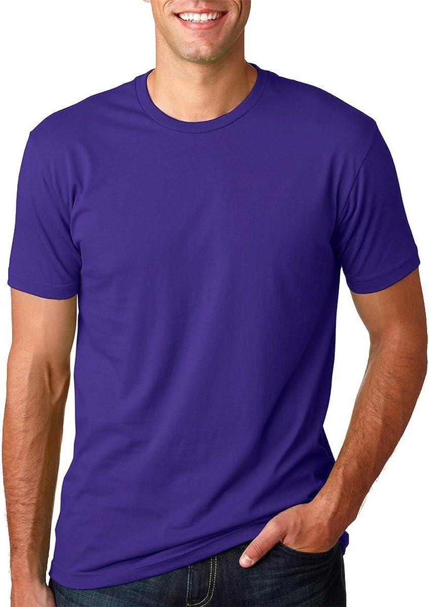 Purple Rush XS Next Level Mens Premium Fitted Short-Sleeve Crew