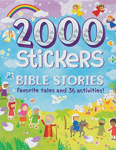 Bible Stories 2000 Stickers
