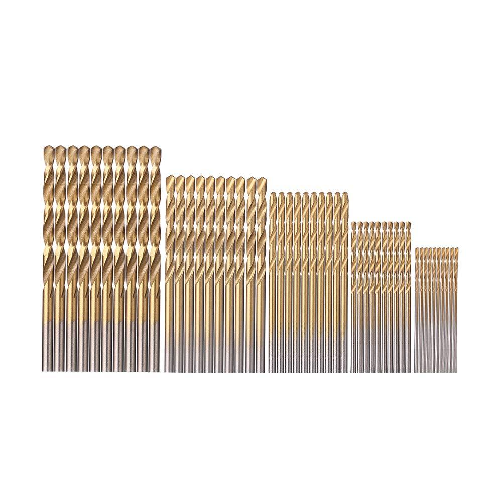 50 pcs 1/1.5/2/2.5/3mm Mini Bit Set Dremel Drill Tool Accessories Power Tools Drill Bits High Steel Speed Drill bits Xilko