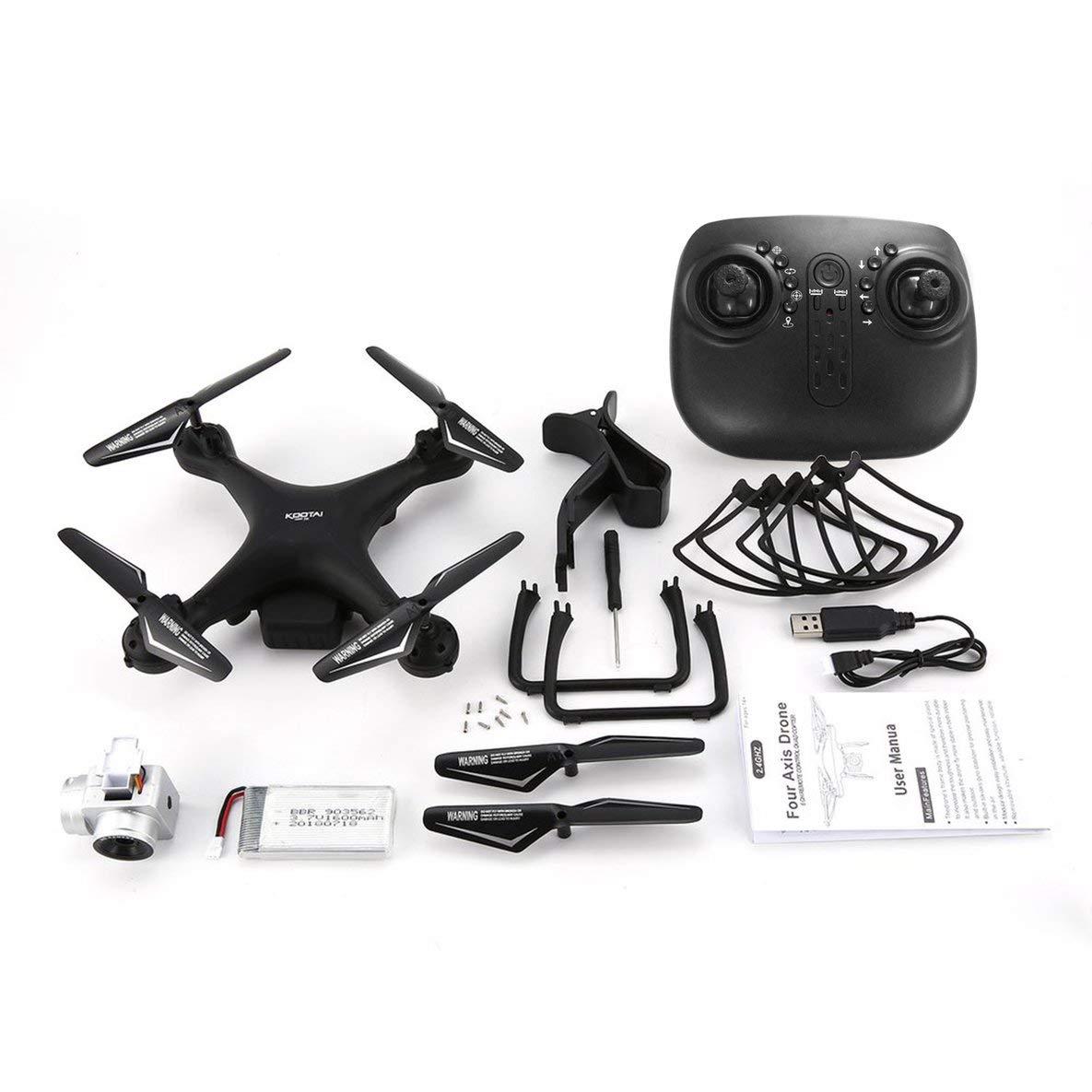 El ultimo 2018 KOOTAI X180 X180 X180 2.4G FPV RC Quadcopter Drone UAV con 0.3MP Altitud de cámara Mantener Modo sin Cabeza 3D-Flip 18mins Vuelo Largo  precios ultra bajos