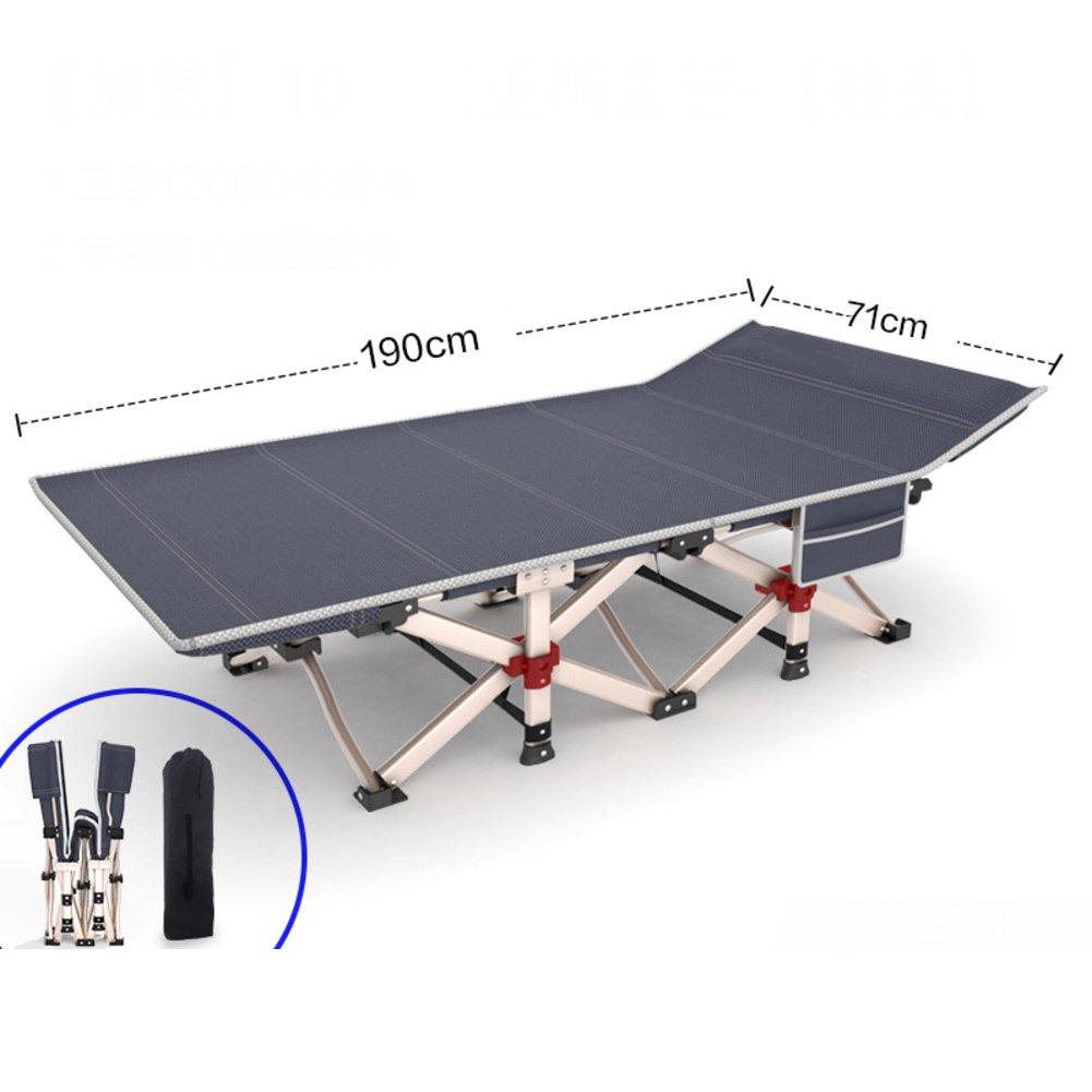 L&J オフィス 折りたたみベッド, ポータブル リクライニングチェア 安定 シングルベッド, 可能 ラウンジチェア, バルコニー 庭 花火大会 パティオ ビーチ プール, 荷重 400 Kg を負荷します。 B07F5H8QX9  A