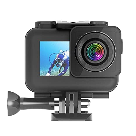 Tanlso - Carcasa Impermeable para cámara de acción dji OSMO ...