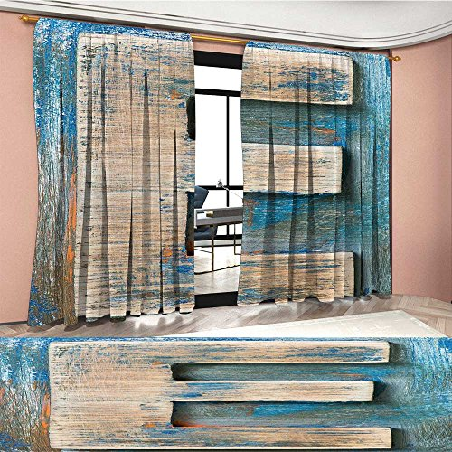 Davishouse Letter E Patterned Drape For Glass Door Antique Alphabet Letters Collection Uppercase E with Vintage Style Display Waterproof Window Curtain Tan Blue (Glass Triple Display Case)