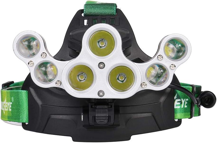 nobrand stirnlampe Ultra Bright Adjustable 50000 Lm Led-Scheinwerfer Angellampe USB-Kabel