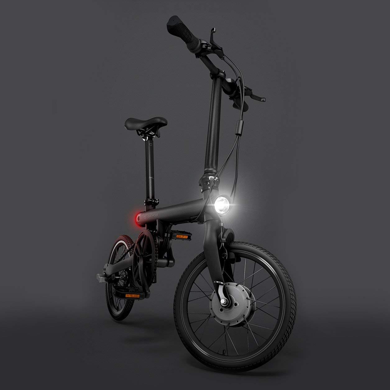 Dailyinshop Xiaomi Mi Plegable eléctrica Inteligente Bicicleta Plegable Bicicleta E-Bike luz de la Bicicleta 18