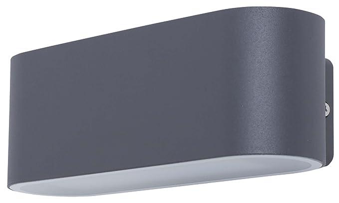 Lampada da parete smartwares gwi hs ivan led integrato