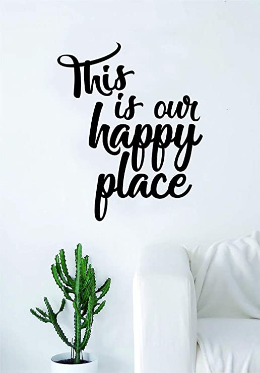 Wall Sticker Our Happy Place Family Home Wall Decal