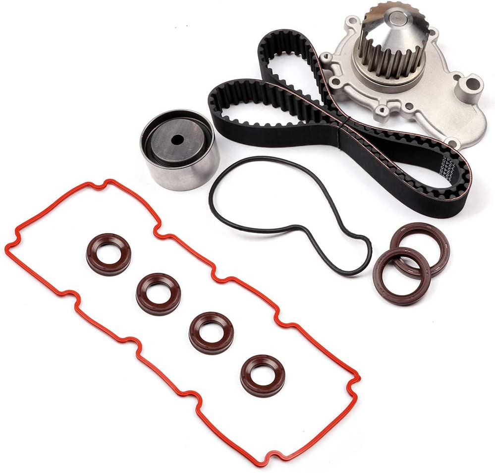 TUPARTS Timing Belt Kit Replacement for 2000 Cirrus 2000-2002 Neon 2000-2005 Dodge Neon 1999-2000 Dodge Stratus 1999-2000 Plymouth Breeze 2000-2001 Plymouth Neon