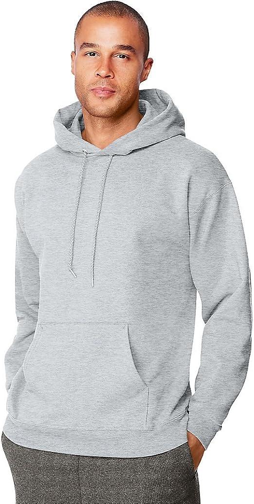 Hanes Mens Ultimate Cotton Pullover Hooded Sweatshirt