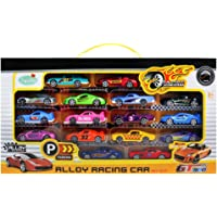 16-Pack Fajiabao Die Cast Car Set