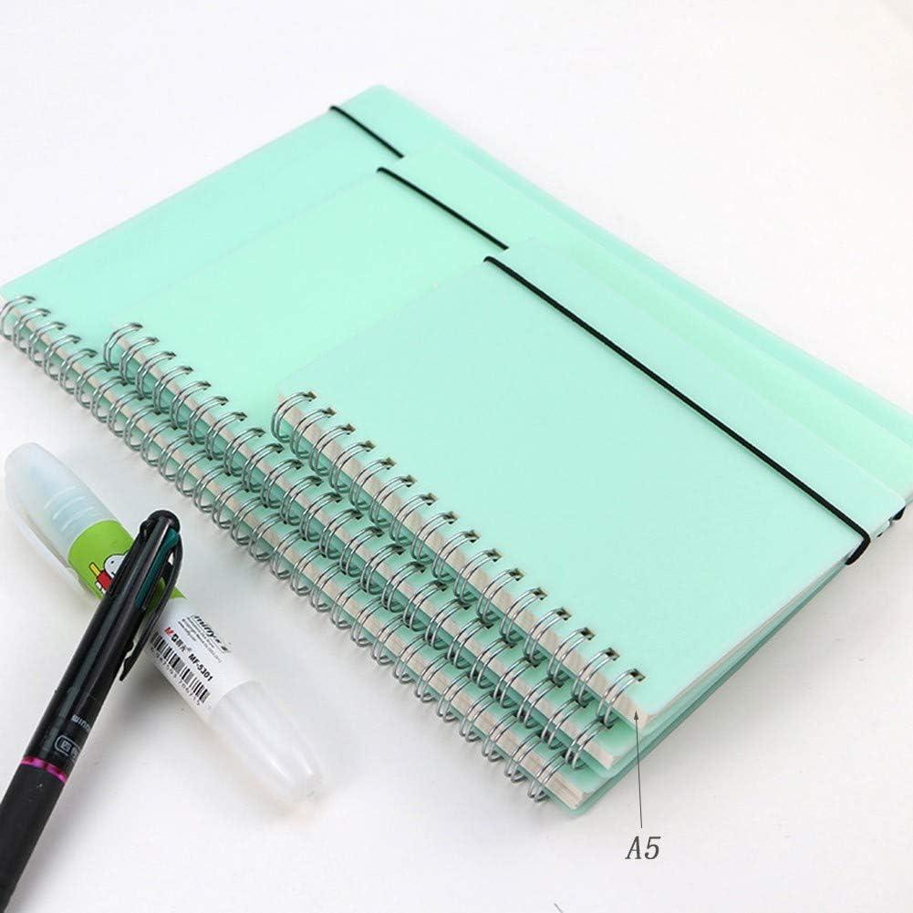 Mood cabin record book PP Cuaderno De Tapa Dura,Cuadernos Espiral Anillas,Cuaderno De Hojas Sueltas,No Sangrar,para Estudiante De La Fuente De La Escuela A6,A5,B5,A4