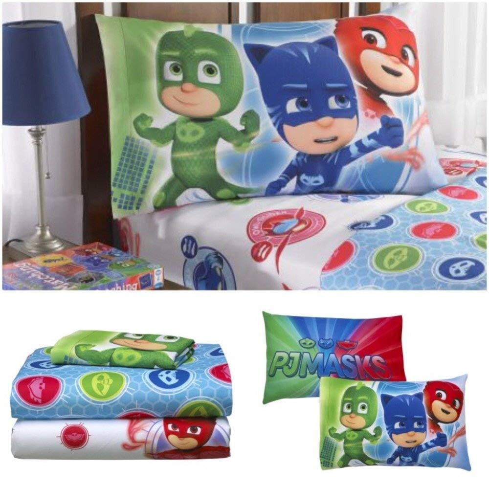 PJ Masks Kids Twin Bedding Sheet Set