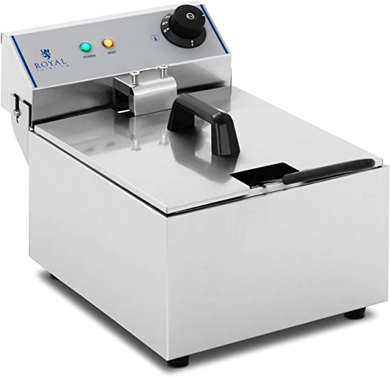 Royal Catering Freidora Electrica Profesional RCEF-10EY-ECO (10 ...
