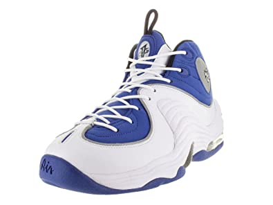 Nike Air Penny II Blue  Silver  White size 7.5 US 35f9e99d1