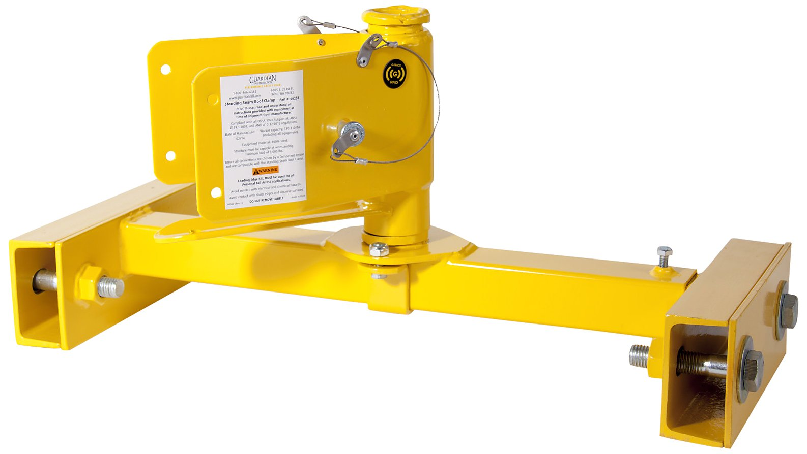 Guardian Fall Protection 250 Standing Seam Roof Clamp by Guardian Fall Protection (Image #2)