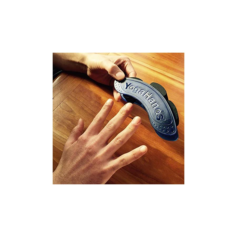 YogaHands – Hand Exerciser & Stretcher: Helps to Alleviate and Prevent Carpal Tunnel Syndrome, Tendonitis, Hand Pain and Arthritis!