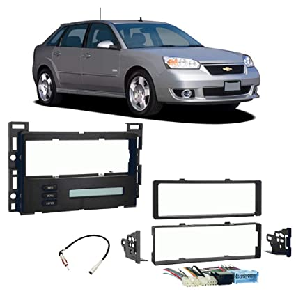 Amazon.com: Chevy Malibu Maxx 2004-2007 Single DIN Stereo ... on