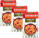 Zatarain's Gumbo Mix With Rice, 7 Ounces - Pack of 3