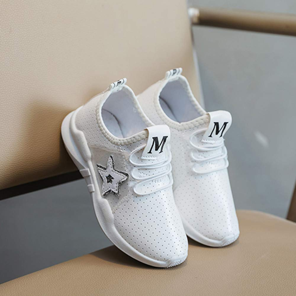 Lucoo baby boots Children Kid Boys Girls Bling Letter Sport Running Style Sneaker Casual Shoes