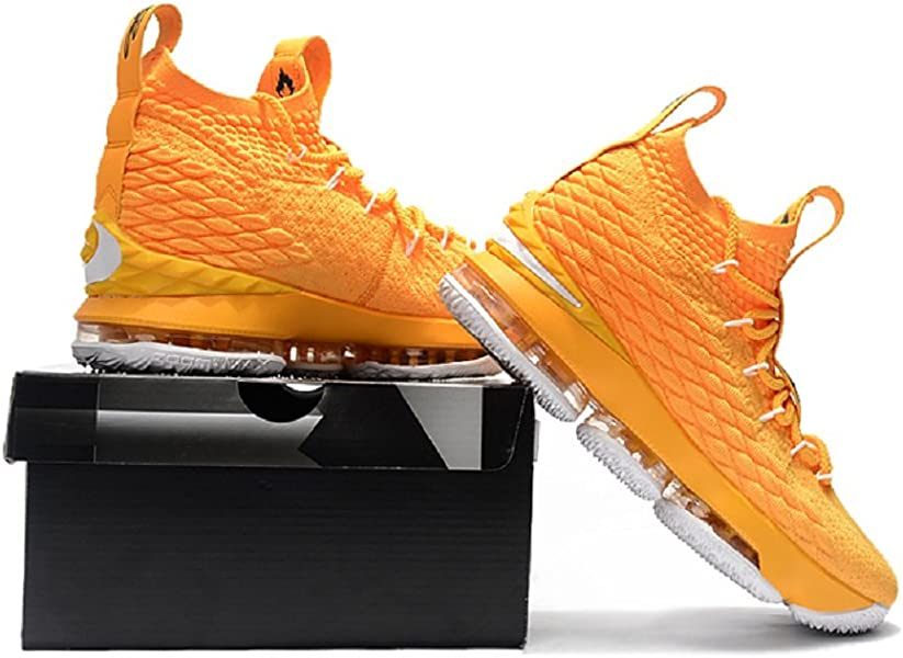 0a2cfbe42d3 2018 Lebron XV Orange Basketball Shoes