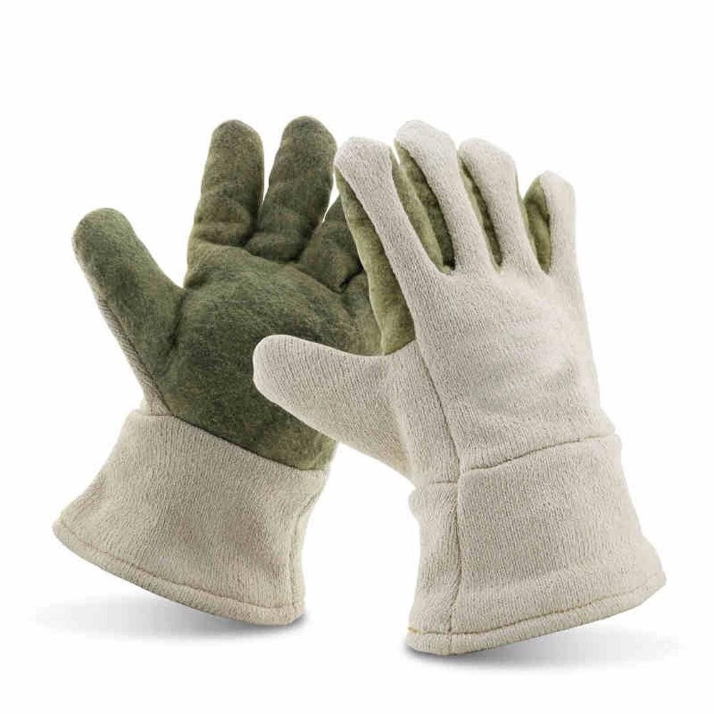 Anti-high temperature 400 ° work insulation gloves labor tools insulation safety equipment long 30cm