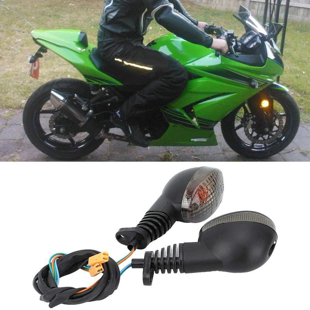 Luz de señal de giro de la motocicleta de alto brillo apta ...
