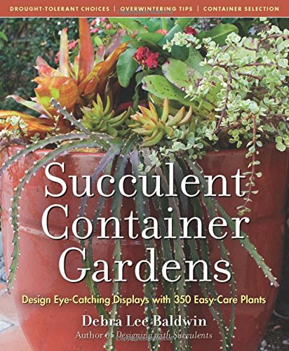 Succulent Container Gardens: Design Eye-Catching Displays with 350 Easy-Care Plants (For Plants Succulent Care)