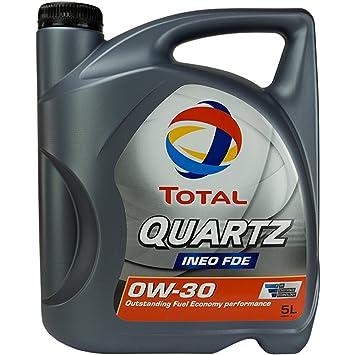 Aceite para motor Quartz Ineo FDE 0W-30, 5 litros: Amazon.es: Coche y moto