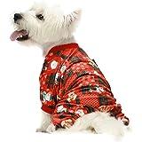 Amazon.com: Fitwarm - Ropa de Navidad para mascotas, perro ...