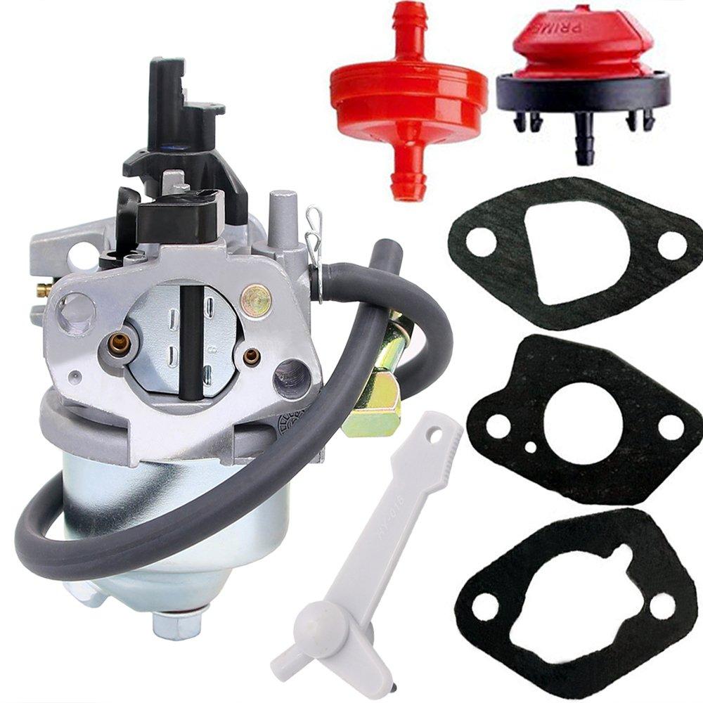 HOOAI Carburetor for Toro Power Clear 421 & 621 19-1996 120-4418 120-4419 Models 38451 38452 38453 38454 38458 38459 38567 38588 Snow Thrower (19-1996) by HOOAI