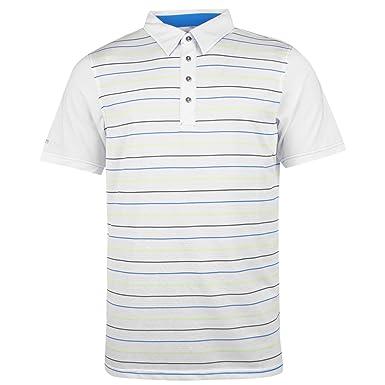 Sunice Hombre Benjmin Polo Camiseta Mangas Cortas Top Golf Deporte ...