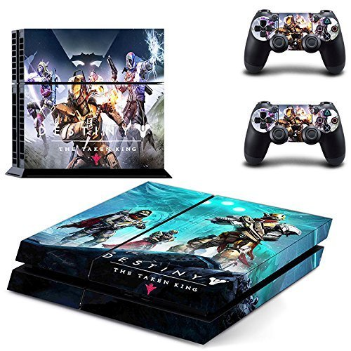 Lucky Store Brand New Destiny The Taken King Designed Skin Sticker Decals for Sony PS4 PlayStation 4 Console and 2 Controllers Skin - Store Destiny