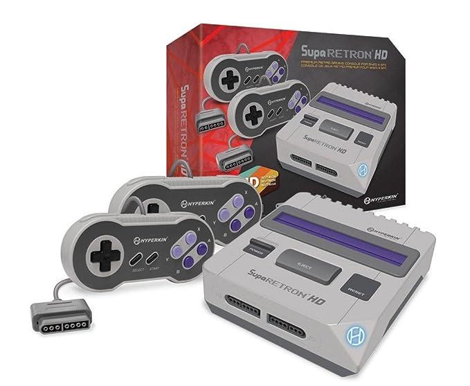 Hyperkin - Consola SNES Suparetron HD Gaming: Amazon.es ...