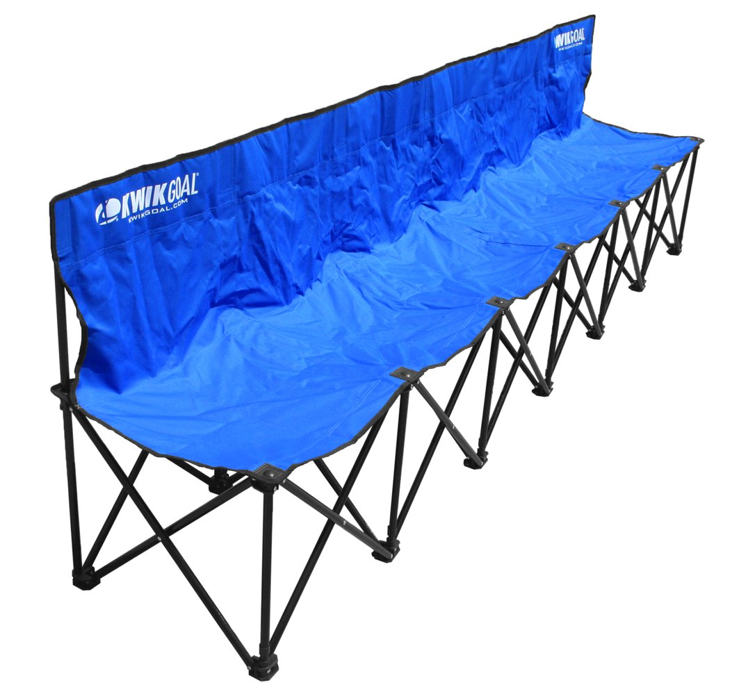 Amazon.com : Kwik Goal 9B906 6 Seat Kwik Bench : Soccer Nets : Sports U0026  Outdoors