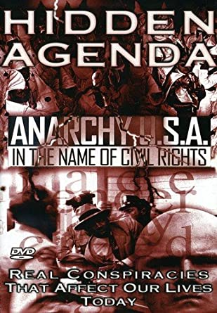Amazon.com: Hidden Agenda, Vol. 4 - Anarchy USA: In The Name ...