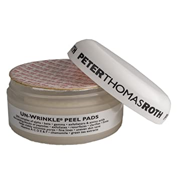 Amazon.com : Peter Thomas Roth Un-Wrinkle Peel Pads (20 Pads) (SEALED) : Facial Peels : Beauty