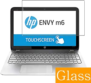 "Synvy Tempered Glass Screen Protector for HP Envy m6-n100 / n113dx 15.6"" Visible Area Protective Screen Film Protectors 9H Anti-Scratch Bubble Free"