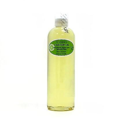 Aceite de ricino Virgen Orgánico Puro prensado en frío por Dr. Adorable 12 oz