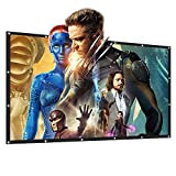 Portable Movie Screen Tabletop 16:9 Home Cinema Projector Screen, PVC Fabric (100 Inch)