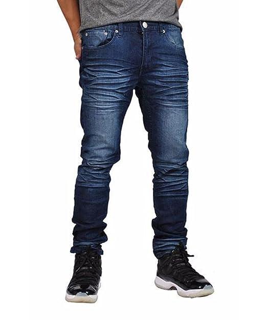 Mens Classic Skinny Jeans Slim Fit With Stretch (38W x 32L 0ee85b8c7d60