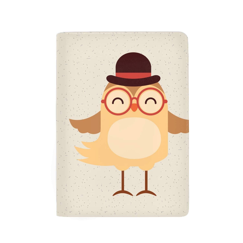 Farm Cow Passport Holder Cover Wallet RFID Blocking Leather Card Case Travel Document Organizer