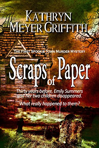"""Scraps of Paper is a well-constructed mystery with just the right mix of good guys and bad guys, with a sprinkling of oddballs and misfits thrown in. Kathryn Meyer Griffin does a nice job of allowing the friendship of the book's two main characte..."