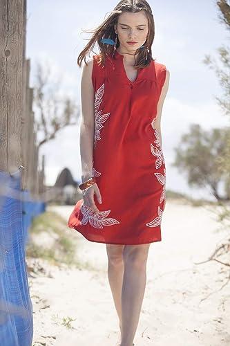c2d4a78144a3 Amazon.com  Short Red Rayon Summer Dress