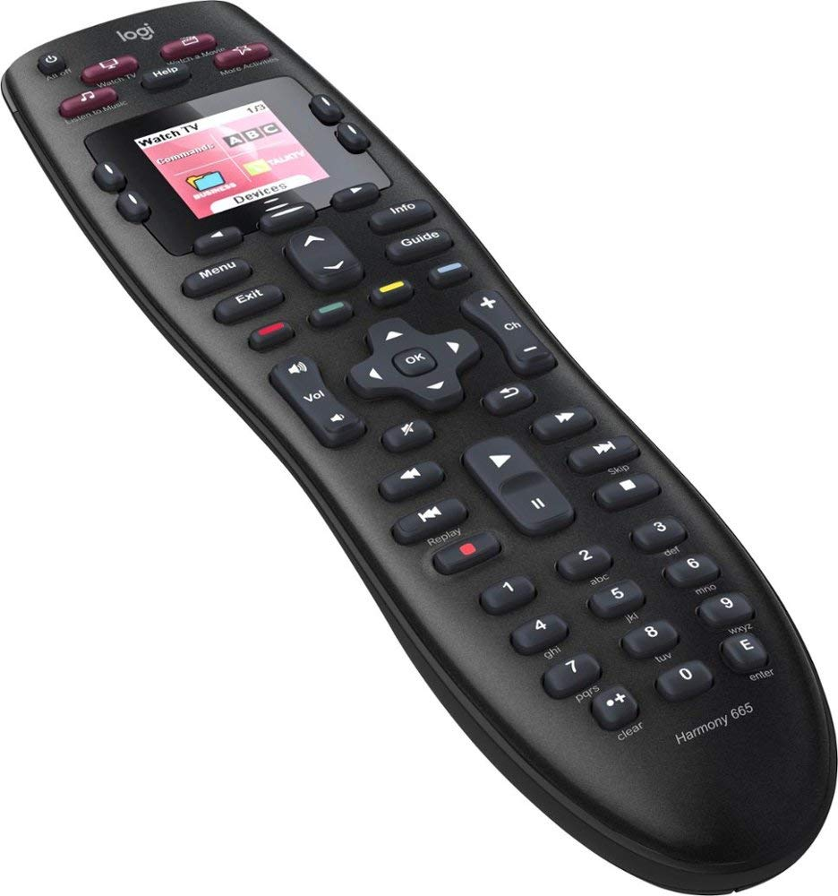 Logitech Harmony 665 Advanced Remote Control by Logitech