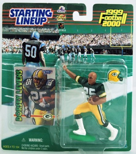 Bay Packers Green Lineup - Starting Lineup - 1999 - Dorsey Levens - Green Bay Packers - NFL