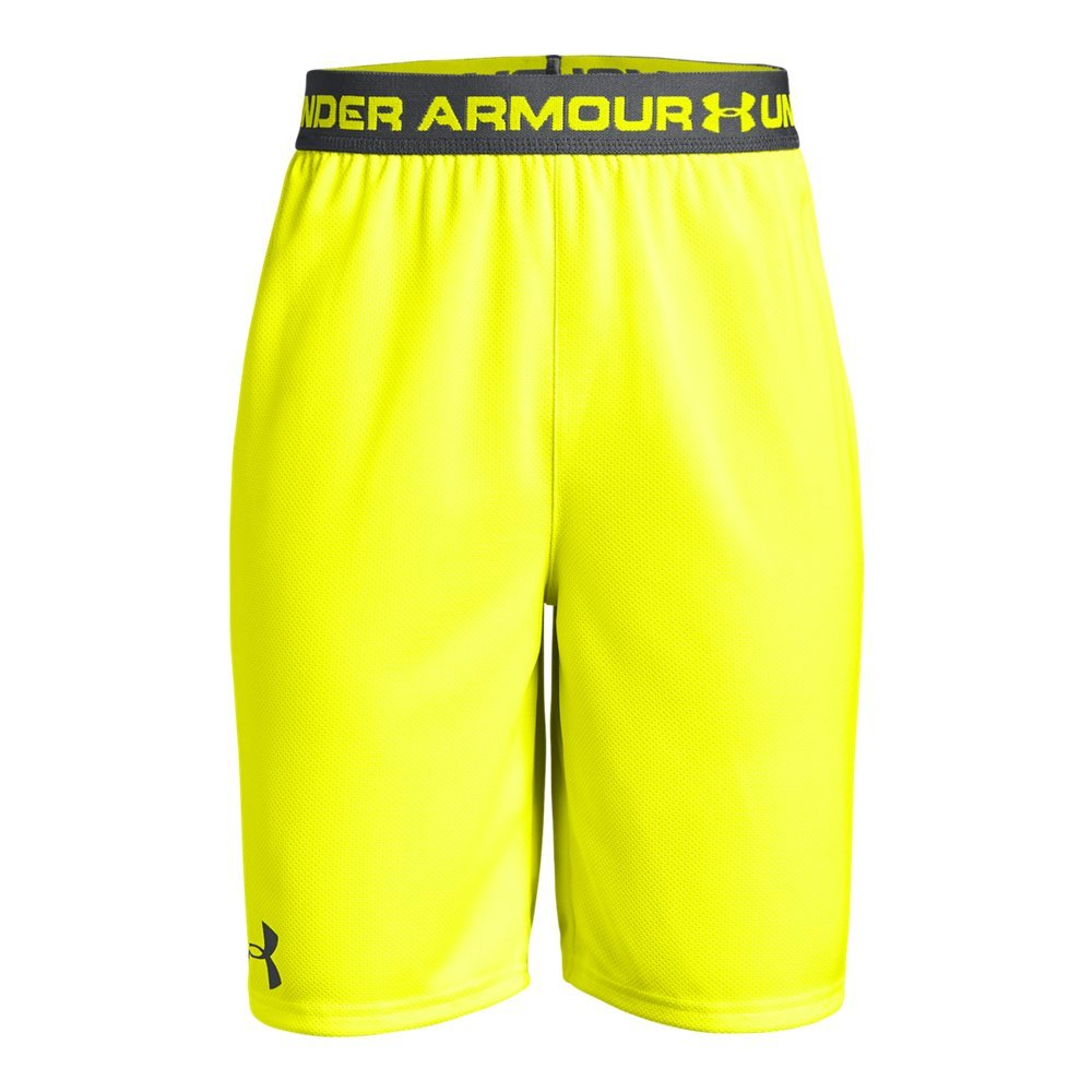 Under Armour Boys' Tech Prototype 2.0 Shorts, High-Vis Yellow (731)/Graphite, Youth X-Small